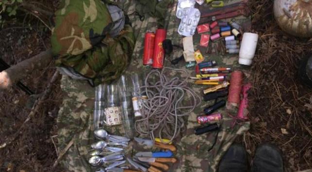 PKKnın kış üslenmesine operasyon: Çok sayıda patlayıcı bulundu
