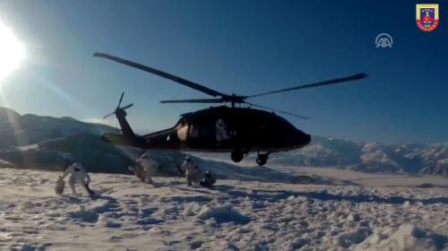 Jandarma kış operasyonlarını sürdürüyor