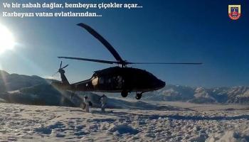 Jandarma kar kış demeden terör operasyonlarını sürdürüyor