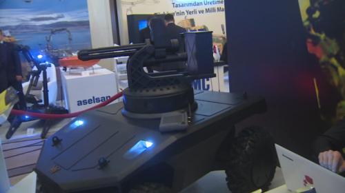 """Bu araçlar """"insansız"""" görev yapıyor"""