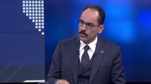 İbrahim Kalın: Filistin'in daha çok devlet tarafından tanınma süreci hızlanacak