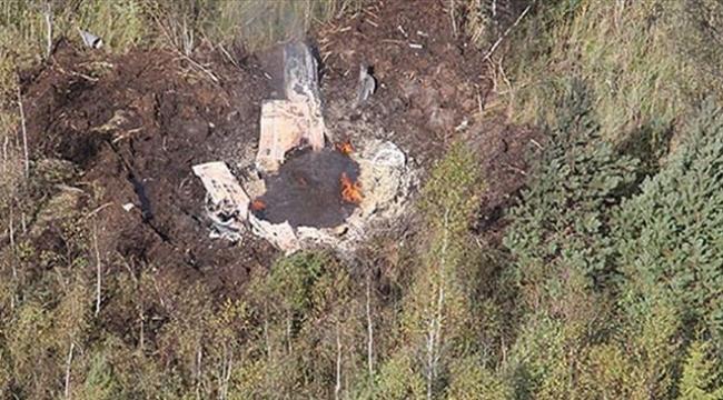 Meksikada kaybolan küçük uçağın enkazı bulundu