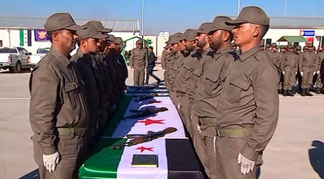 TSKnın eğittiği 150 Suriyeli polis daha göreve başladı