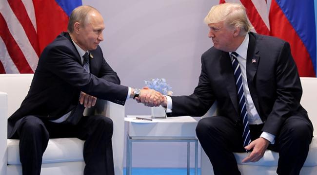 ABD Başkanı Trumptan Putine teşekkür telefonu