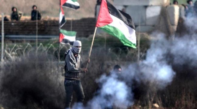 Gazzedeki gösterilerde 2 kişi daha şehit oldu