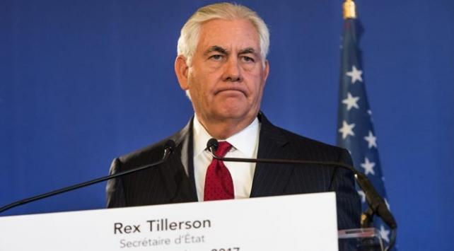 ABD Dışişleri Bakanı Tillersondan U dönüşü