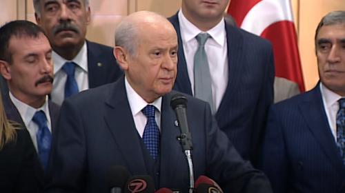 MHP Genel Başkanı Bahçeli: Erken seçim talebi kime ne hizmet sunacaktır