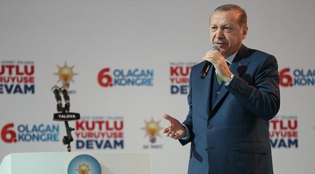 Cumhurbaşkanı Erdoğan: Kudüse uzanan her eli İstanbula uzanmış sayarız