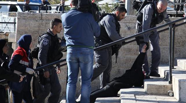 İsrail polisinin şiddeti gün geçtikçe artıyor