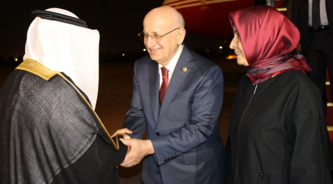 TBMM Başkanı İsmail Kahraman Kuveyte gitti