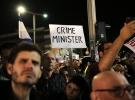 Tel Aviv'de binlerce kişi Netanyahu'yu protesto için sokaklara döküldü