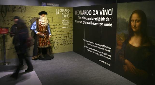 Leonardo Da Vincinin eserleri İstanbulda sanatseverlerle buluştu