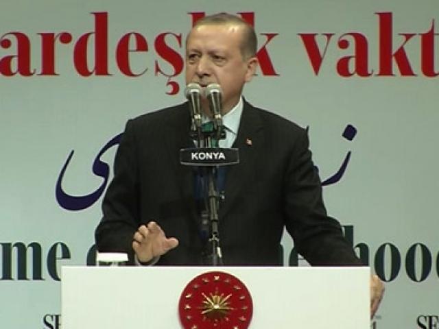 Cumhurbaşkanı Erdoğan: Biz bir ve beraber olursak fitne tohumları asla boy almayacaktır.
