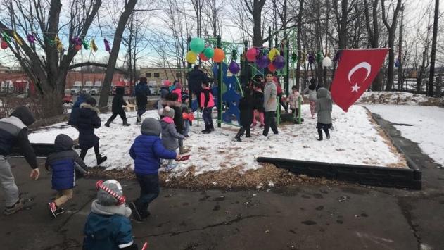 ABDde Ahıskalı Türklere hizmet verecek oyun parkı açıldı