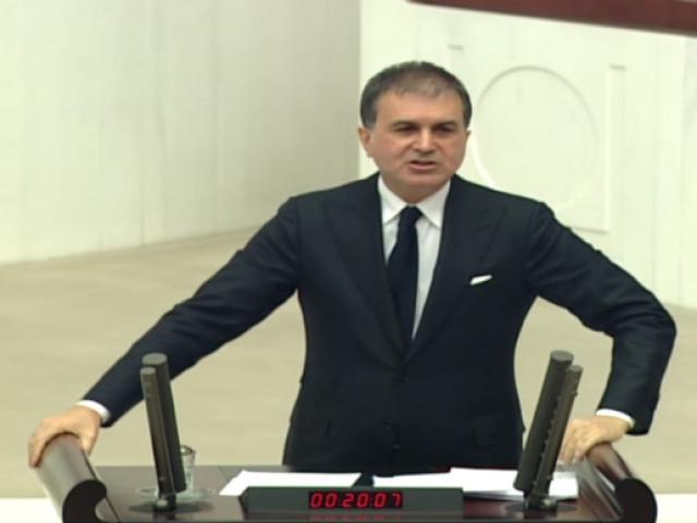 Ömer Çelik: ABye tam üyelik süreci bir devlet politikası ve stratejik bir hedeftir
