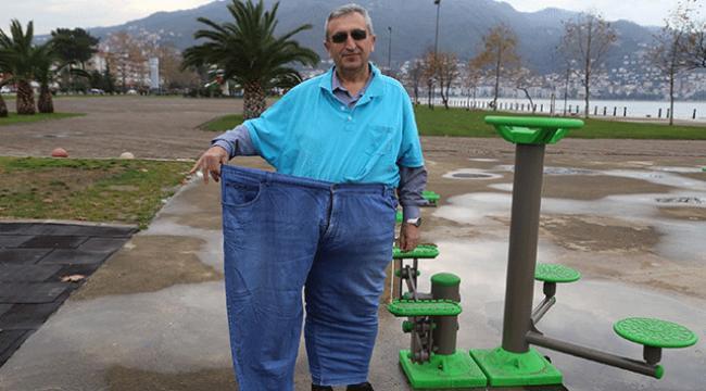 Almanca öğretmeni bir yılda 101 kilo verdi