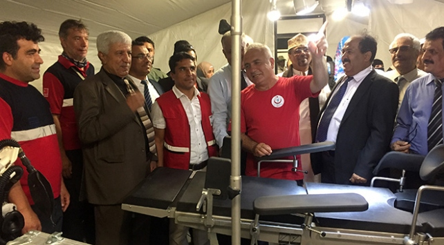 Türk Kızılayı Yemende Türk Saha Hastanesi açtı