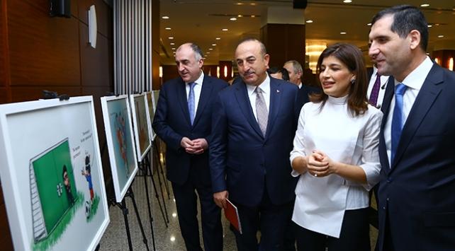 """""""Bir Millet İki Devlet"""" sergisi açıldı"""