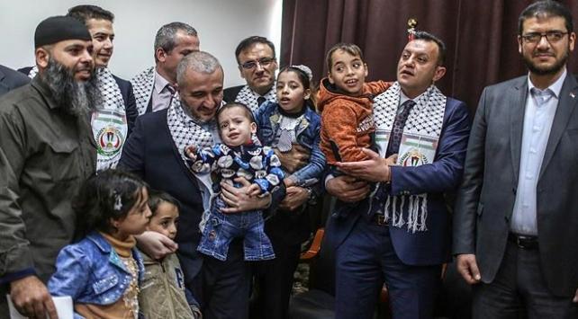 Gazzeli engelli kardeşler Türkiyeye getirilecek