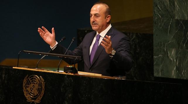 Dışişleri Bakanı Mevlüt Çavuşoğlu: Güçlü olmanız sizin haklı olduğunuzu göstermez