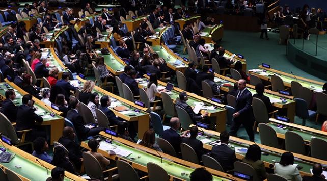 Birleşmiş Milletler Genel Kurulunda Türkiyeye övgü dolu sözler