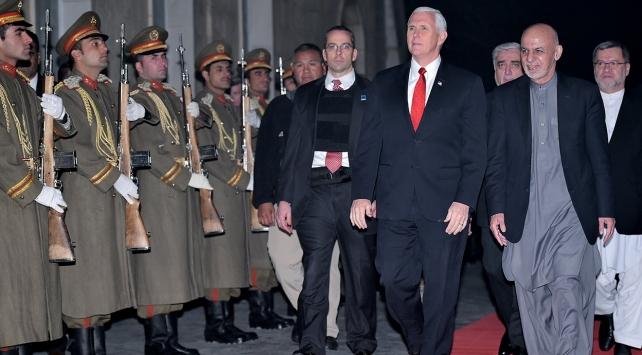 ABD Başkan Yardımcısı Pence Afganistanda