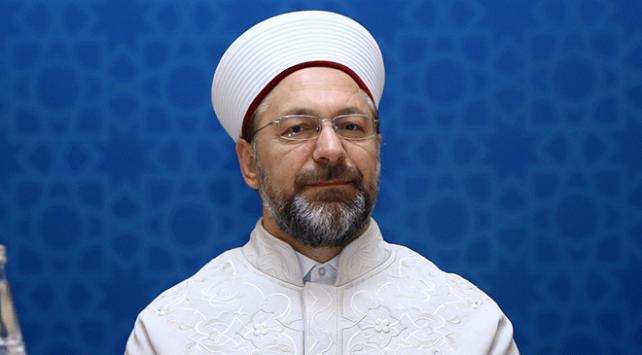 Diyanet İşleri Başkanı Prof. Dr. Ali Erbaş: BM Genel Kurulunun kararı ABDye vurulan tokattır