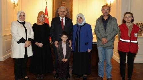 DEAŞ'ın kaçırdığı Alpaslan, Başbakan Yıldırım'ın girişimleriyle kurtarıldı