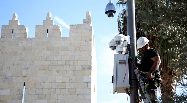 İsrail güvenlik bahanesiyle Kudüsü 24 saat izliyor
