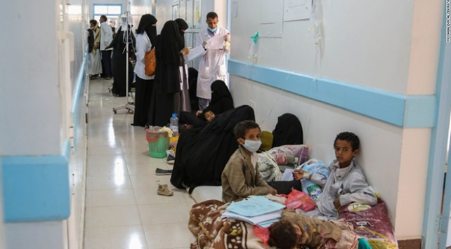 1 milyondan fazla Yemenli koleranın pençesinde