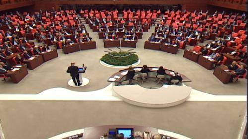 Türkiye Büyük Millet Meclisi'nde CHP'nin, İçişleri Bakanı Süleyman Soylu hakkında verdiği gensoru kabul edilmedi