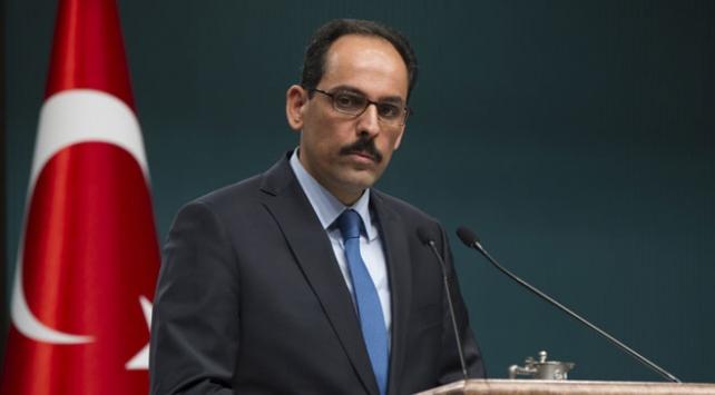 Cumhurbaşkanlığı Sözcüsü İbrahim Kalın: Uluslararası hukuk ve ahlaki zemin büyük bir zafer kazanmış oldu