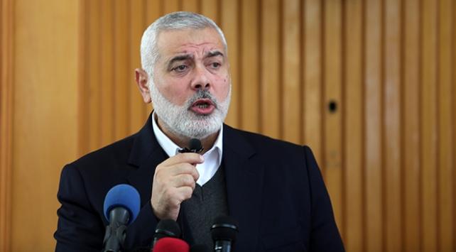 Hamas Lideri İsmail Haniyeden ABDnin İsraili Yahudi devleti olarak tanıyabileceği uyarısı