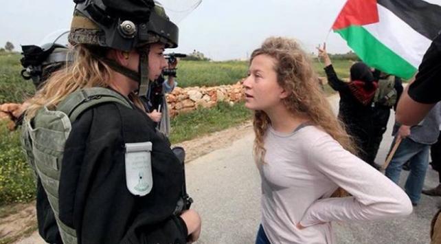 İsrail mahkemesinden Filistinli cesur kızın serbest bırakılmasına ret