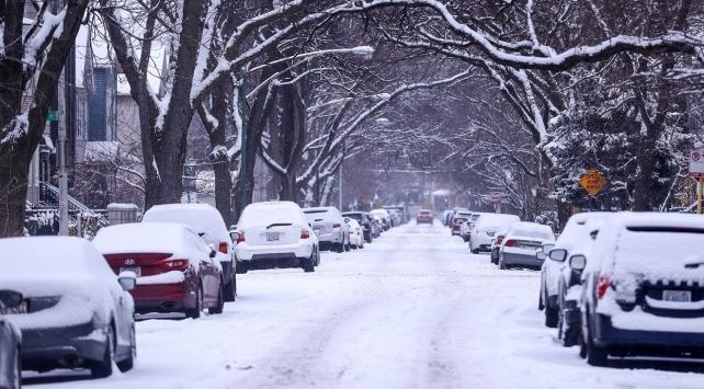 ABDde 99 yılın en yoğun kar yağışı gerçekleşti