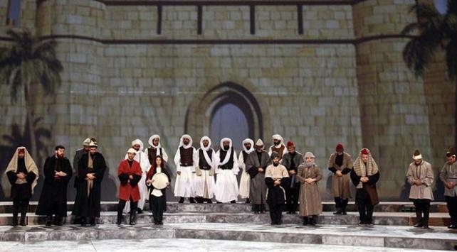 Kudüsün Zamanı sahneye taşınıyor