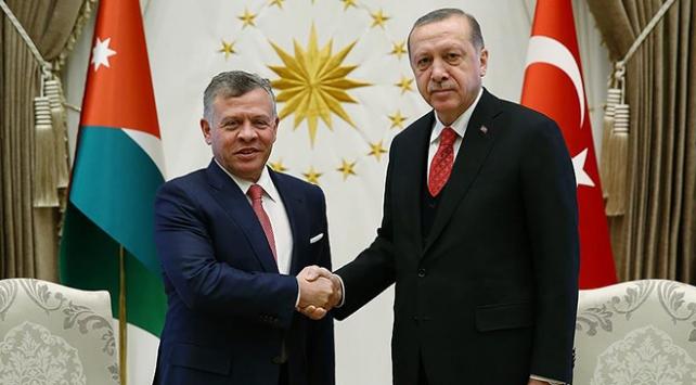 Cumhurbaşkanı Recep Tayyip Erdoğan, Ürdün Kralı 2. Abdullah ile görüştü