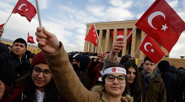 Mustafa Kemal Atatürkün Ankaraya gelişinin 98. yıl dönümü