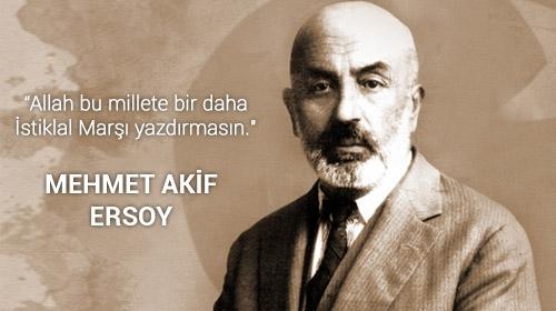 Mehmet Akif Ersoyun vefatının 81. yılı
