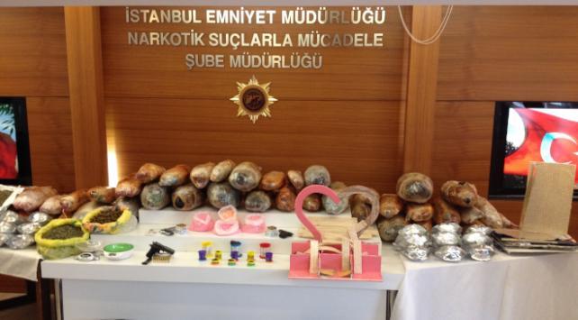 İstanbulda 2017 uyuşturucu ile mücadele bilançosu