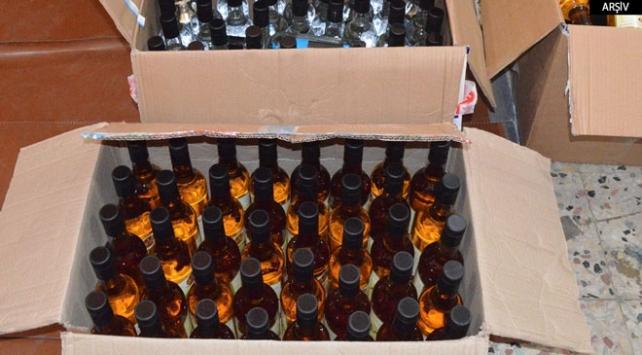 Yılbaşı öncesi kaçak içki baskınları
