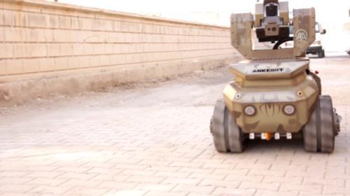Robotik silah teknolojisi