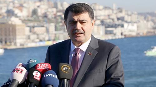 İstanbul Valisi Vasip Şahin: Vatandaşlarımızın yeni yıla huzurlu girmesini sağlayacağız