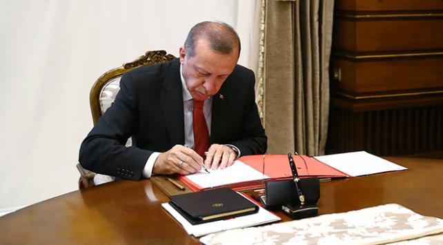 Cumhurbaşkanı Erdoğanın onayladığı üç kanun yürürlüğe girdi