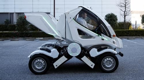 Japon bilim adamlarından katlanabilen otomobil