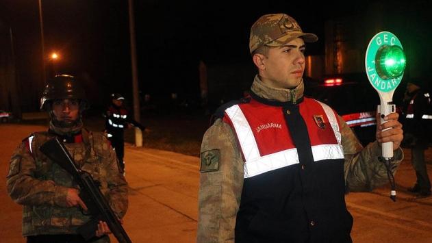 Yurt genelinde yılbaşı gecesi 80 bini aşkın jandarma görev yapacak