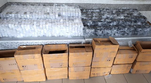 Edirnede 5 binden fazla kaçak cep telefonu yakalandı