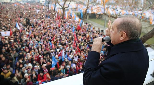 Cumhurbaşkanı Recep Tayyip Erdoğan: Teröristlerin hepsini temizleyinceye dek mücadele devam edecek