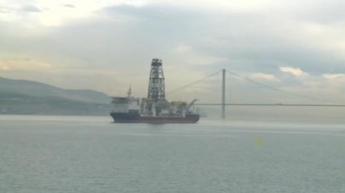Türkiye'nin ilk sondaj gemisi