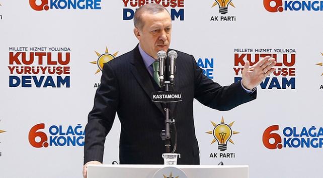 Cumhurbaşkanı Recep Tayyip Erdoğan: Dün zalimin adı rejimdi, bugün zalimin adı YPG/PYD